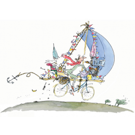 Quentin Blake Signed - Mrs Armitage