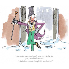 Roald Dahl Charlie and The Chocolate Factory - Wonka, An Extraordinary Little Man