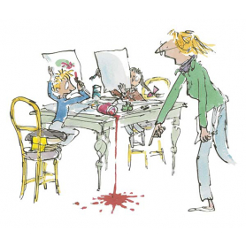 Quentin Blake Signed - Simpkin That