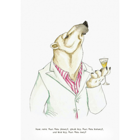 Animals - Polar Bear Shakespeare Quote