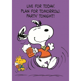 Snoopy - Live For Today