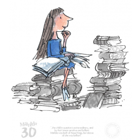 Roald Dahl Matilda 30th Anniversary - The Child in Question is Extra-Ordinary