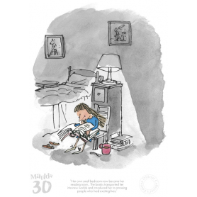 Roald Dahl Matilda 30th Anniversary - Her Own Small Bedroom