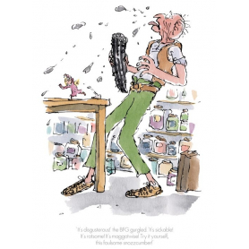 Roald Dahl BFG - It's Disgusterous! The BFG Gurgled