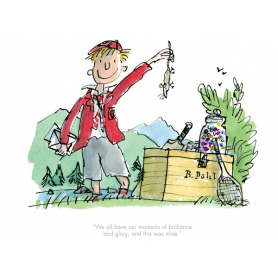 Roald Dahl Boy Tales of Childhood - We All Have Our Moments of Brilliance