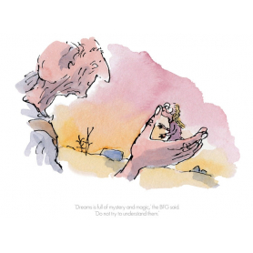 Roald Dahl BFG - Dreams is Full of Mystery