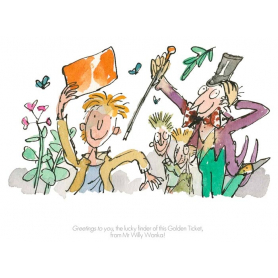 Roald Dahl Charlie and the Chocolate Factory - Greetings to You