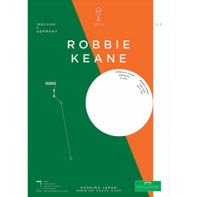 Republic of Ireland - Robbie Keane vs Germany 2002