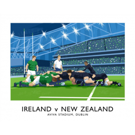 Sport - Rugby Ireland v New Zealand