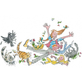 Quentin Blake - She Isn't Quite Like Other Folk