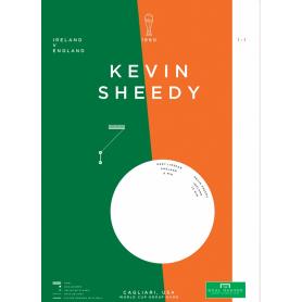 Republic of Ireland - Kevin Sheedy vs England 1990