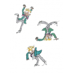 Quentin Blake Signed - Simpkin Silly Artist Proof