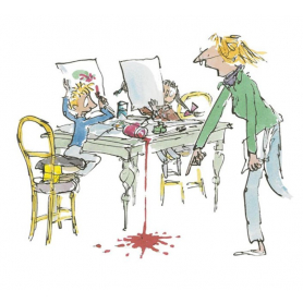 Quentin Blake Signed - Simpkin That Artist Proof