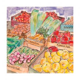 St Georges Market - Fruit & Veg Stall