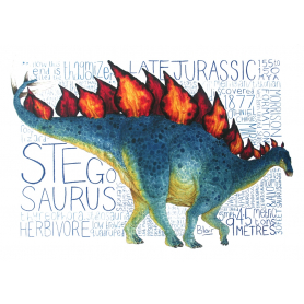 Animals - Dinosaur Stegosaurus
