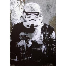 Star Wars Stormtrooper In Black