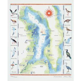 Map Strangford Lough Wildfowl