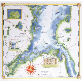 Map Lower Strangford Lough