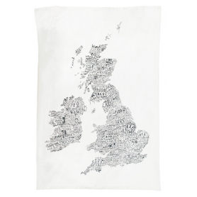 Tea Towel British Isles