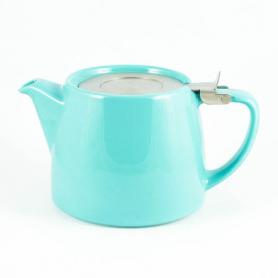 Stump Teapot Turquoise