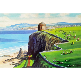 Print - The Wedding At Mussenden