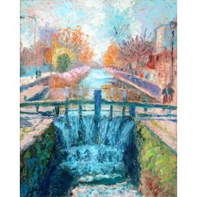 Original - The Grand Canal, Dublin