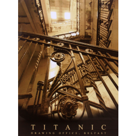 Titanic Drawing Office Stairs