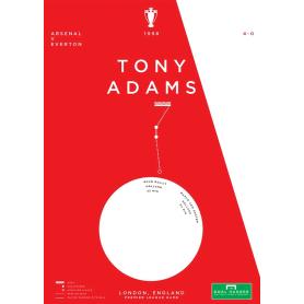 Arsenal - Tony Adams vs Everton 1998