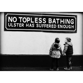 No Topless Bathing