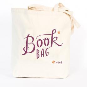 Book (Wine) Tote Bag