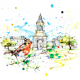 Open Edition - Landscape Series - Trinity College