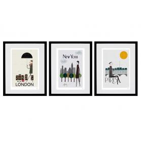 Cities - Set Of Three