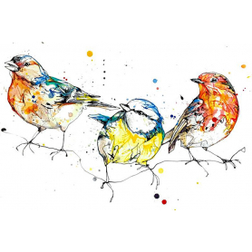 Print Ltd Edition - Animals Series - Tweet Tweet Tweet