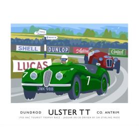 Sport - Ulster TT Jaguar XK120