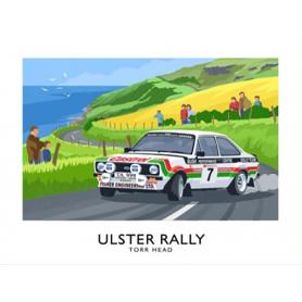 Sport - Ulster Rally Torr Head Mark 2 Escort