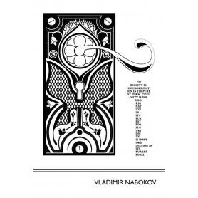 Literary Print - Vladimir Nabokov