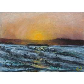 West Strand Sunset, Portrush