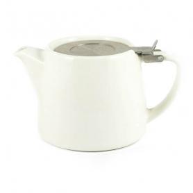 Stump Teapot White