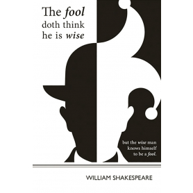 Literary Print - William Shakespeare - Fool