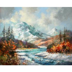 Original - Winter in the Rockies