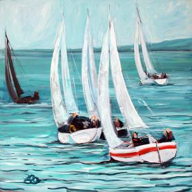 Original - Yachts At Belfast Lough