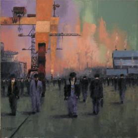 Original - Yardmen And Cranes