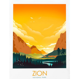 National Park - Zion (Yellow)