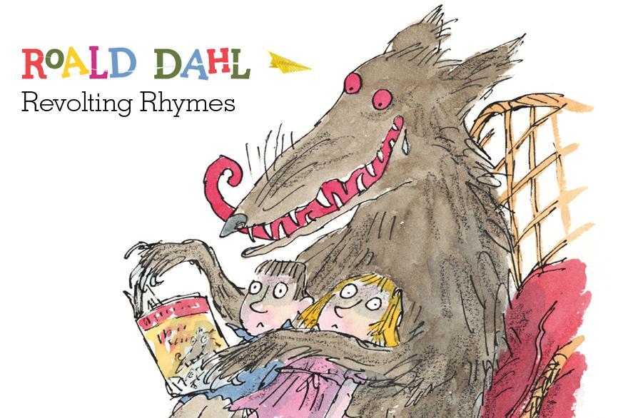 New Roald Dahl / Quentin Blake Revolting Rhymes!