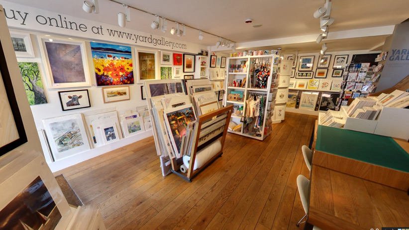 Yard Gallery interior