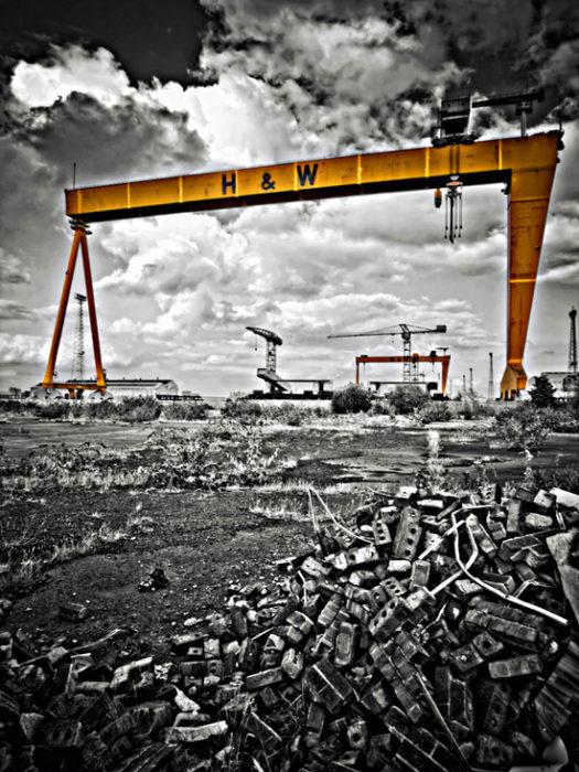 Alastair Stockman - Belfast Shipyard Wasteland