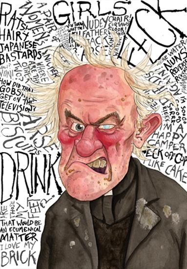 Blair Bailie - Father Jack - Print - £25