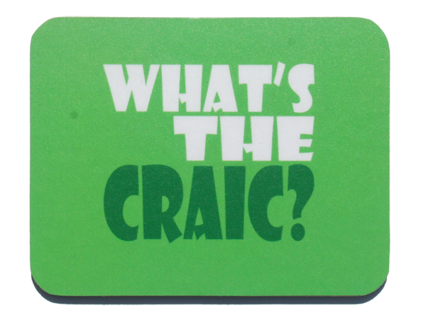 Jeff Meredith - What's the Craic - Coaster
