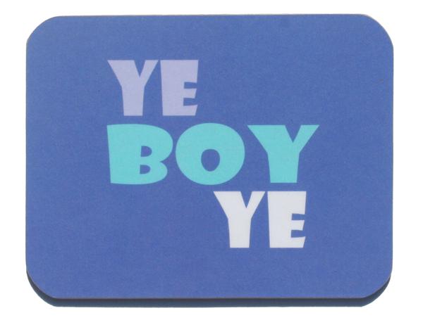 Jeff Meredith - Ye Boy Ye - Coaster - £3.25