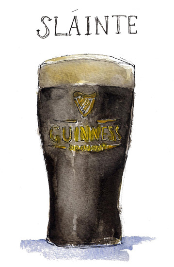 Sarah Majury - Guinness Slainte!